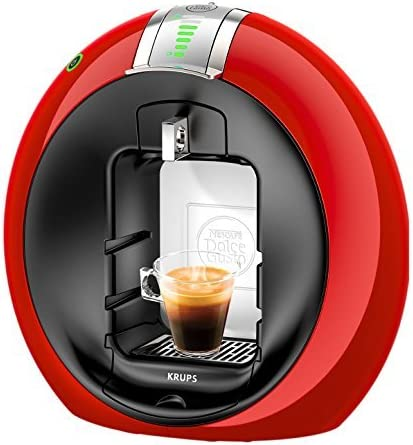Delonghi Dolce Gusto Circolo - Máquina de café (1.3 L, 15 Bar), color rojo (Reacondicionado): Amazon.es: Hogar