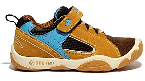 Brown WUIWUIYU Boy's b Shoes Sneakers Running Outdoor Casual Sport q4F07qp