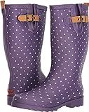 Chooka Women's Printed Rain Boots Eggplant 10 M US