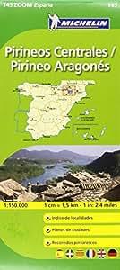 Mapa Zoom Pirineos Centrales / Pirineo Aragonés (Mapas Zoom Michelin)