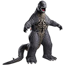 Rubie's Costume Men's Godzilla Adult Inflatable Air Blown, Multicolor, Standard