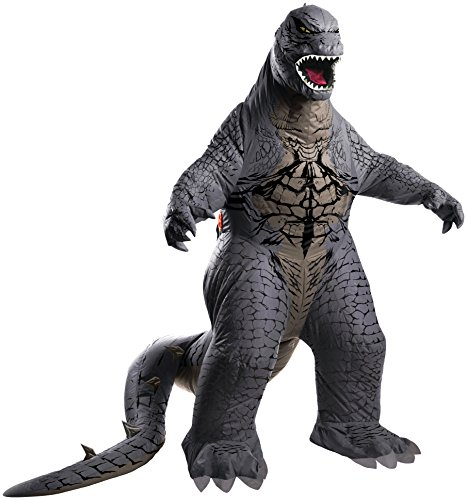 Rubie's Costume Men's Godzilla Adult Inflatable Air Blown, Multicolor, (Monster Costume Adults)