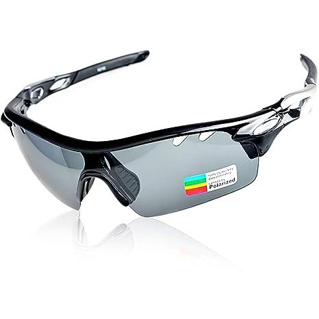 Radbrillen Damen Herren Polarisierte Sonnenbrille Radfahren Fahrrad Sportbrillen Radbrille