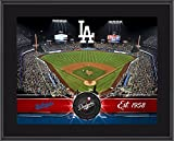 "Los Angeles Dodgers 10"" x 13"" Sublimated Team Stadium Plaque - Fanatics Authentic Certified - MLB Team Plaques and Collages"
