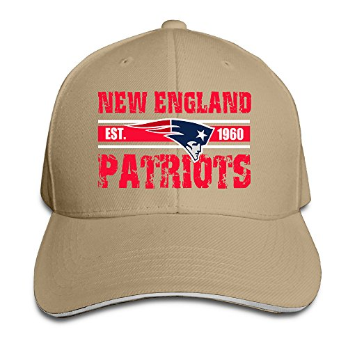 Price comparison product image Harriy New England Patriot Trucker Sandwich Cap Natural