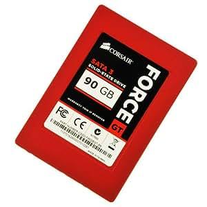 Corsair Force Series GT Red 90GB  (6Gb/s) SATA 3 SF2200 controller Synchronous SSD (CSSD-F90GBGT-BK)