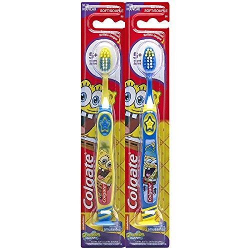 Colgate Kids Twin Toothbrush Spongebob