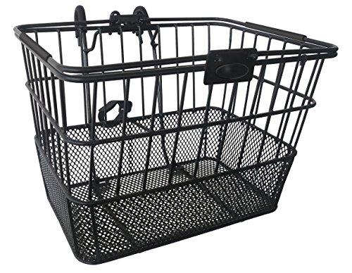 Basket Wire Bracket (Treasure Gifts Mesh Bottom Lift-Off Basket w/Bracket, Black)