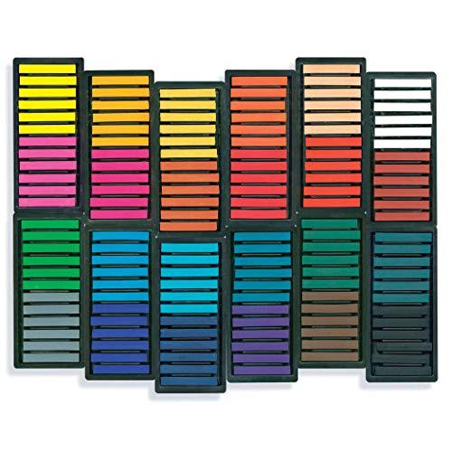 Sargent Art 22-1144 144-Count Colored Square Pastels