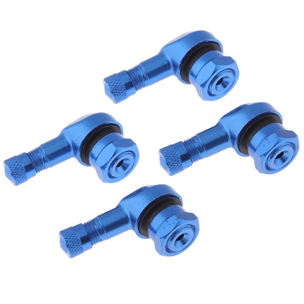 /Φ11,3mm Blue Shiwaki 4 St/ück 90 Grad Reifenventil Verl/ängerung Adapter Eckventil Reifen Ventilverl/ängerung f/ür Auto Motorrad Scooter