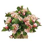 Lopkey-Artificial-Silk-Gardenia-Flowers-Wedding-BouquetPink
