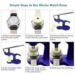 Ohuhu Repair Tool (Model: Watch Press Set)