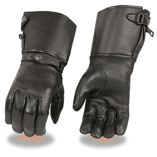 Gauntlet Gloves Leather - 1