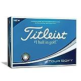 Titleist Tour Soft Golf Balls, White (One Dozen)