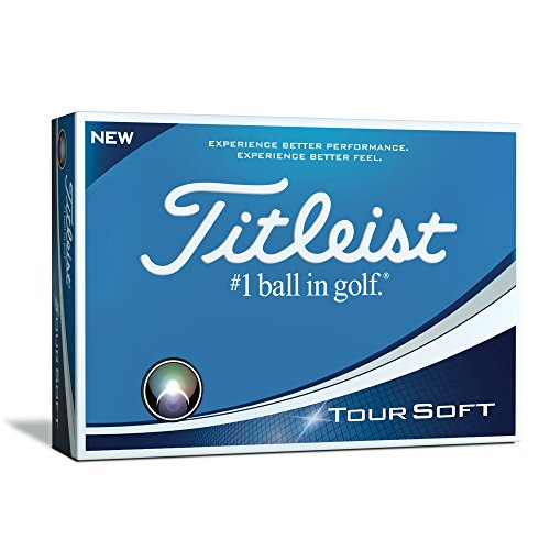 Titleist Tour Soft Golf Balls  White  One Dozen