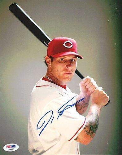Josh Hamilton Signed 8x10 Photograph Cincinnati Reds - Certified Genuine Autograph By PSA/DNA - Autographed Photo ()
