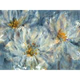 Portfolio Canvas Décor 30 by 40-Inch Printed Wall Art Painting, Large, Blue Cosmos by Carson