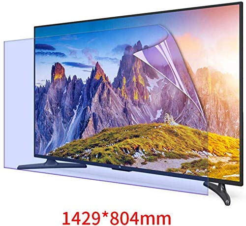 DPLQX 65 Pulgadas de Pantalla de TV Protector Anti Filtro Azul ...