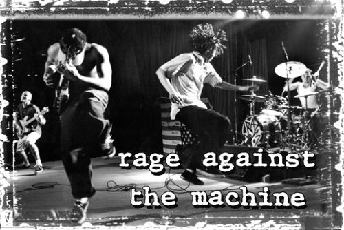 RAGE AGAINST THE MACHINE POSTER Amazing Shot RARE HOT NEW 24