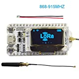 bluetooth wifi module - Assembled 0.96 OLED Display ESP32 ESP-32S WIFI Bluetooth Lora Module Development Board Antenna Transceiver SX1276 915MHZ 868MHZ IOT for Arduino Smart Home DIYmall