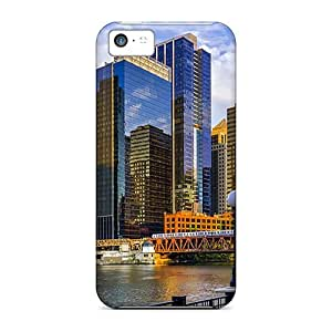 CaroleSignorile Cases Covers For Iphone 5c - Retailer Packaging Chicago Illinois Protective Cases