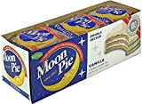 Moonpie Double Decker Vanilla Marshmallow Sandwich 2.75 oz, Pack of 81