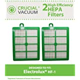 2 HEPA Filters for Electrolux and Eureka Sanitaire Vacuums; Compare to Electrolux Part No. H12, or Eureka Part No. HF-1; Designed & Engineered by Think Crucial