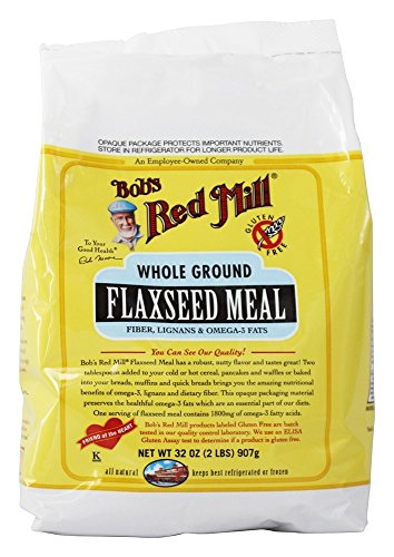 Bob's Red Mill - Gluten Free Flaxseed Meal - 32 oz (pack of 2) by Bob's Red Mill