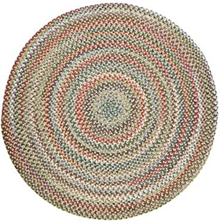 product image for Gardener's Supply Company Round Country Jewel Braided Rug, 6
