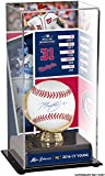 Max Scherzer Washington Nationals Autographed Baseball and Cy Young Display Case with Image - Fanatics Authentic Certified