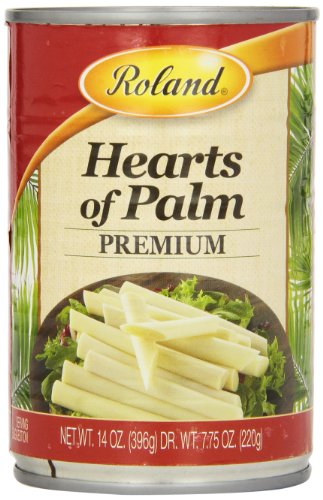 Roland Hearts of Palm, Premium, 14 Ounce (Pack of 4)