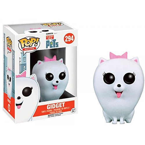 Funko POP Movies: Secret Life of Pets Action Figure - Gidget, Flocked