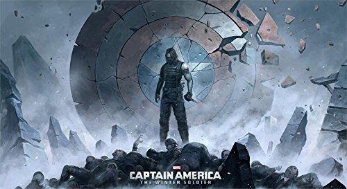 Da Bang Winter Soldier Bucky Barnes The First Avenger Poster Print