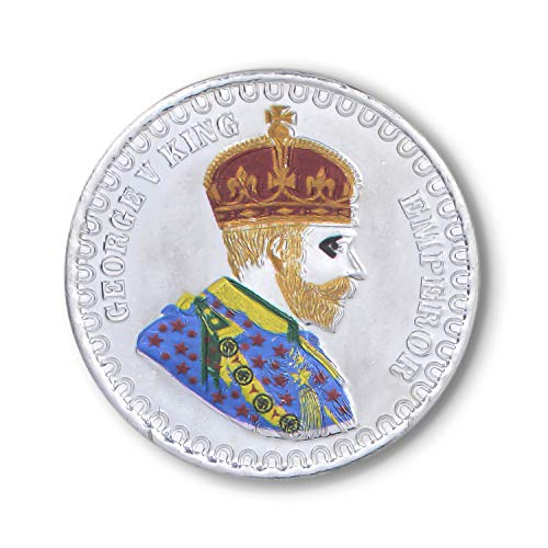 Silverwala 999 Silver Purity Emperor George V King 10 grm Silver Coin