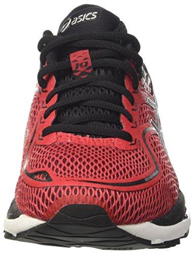 19 Gel Hommes Red Black Pour Course cumulus Rouge Chaussures Silver De Asics priemel WSan6qH