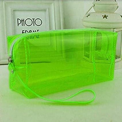 Estuche para cosméticos de viaje, de PVC, transparente ...