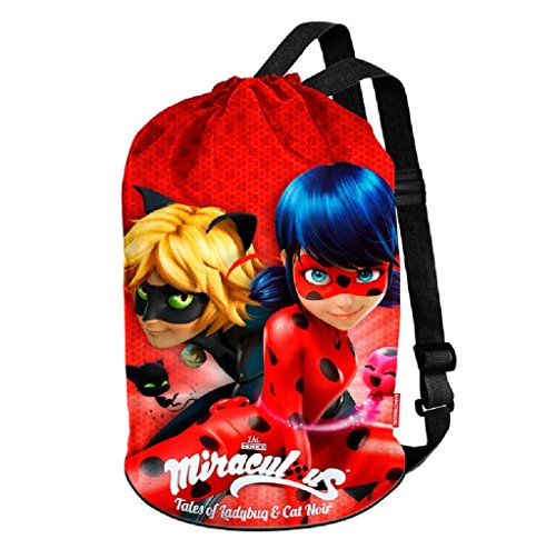 Bag Rojo cm 40 Tote Ladybug Defenders Red amp; Beach Canvas zXwvUa1