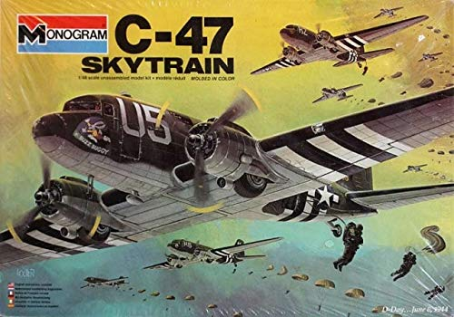 Monogram C-47 Skytrain 1/48 Scale for sale  Delivered anywhere in USA