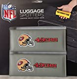 Luggage Spotter BUY ONE GET ONE FREE! SF 49ERS Luggage Locator/Handle Grip/Luggage Grip/Travel Bag Tag/Luggage Handle Wrap (4 PACK) – CLOSEOUT! GREAT GIFT!