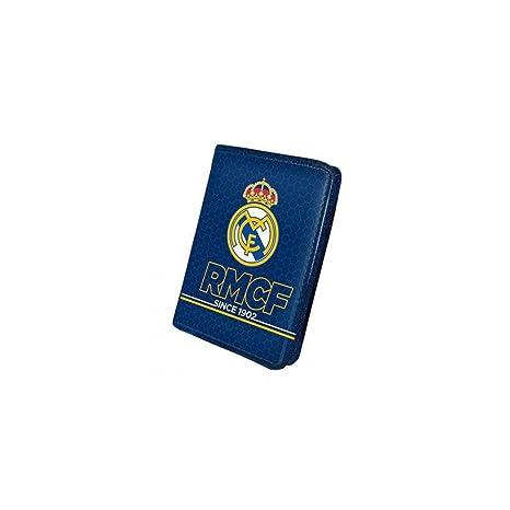 5963f4400 Cartera billetera hombre de Real Madrid Blue: Amazon.es: Juguetes y ...