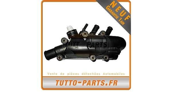Caja termostato de agua Ford Fiesta - 1.3 i 60 CV 70 CV: Amazon.es: Coche y moto