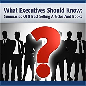What Executives Should Remember Audiobook