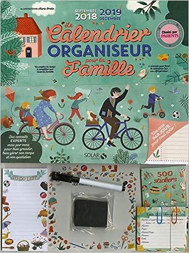 Calendrier Bmx 2019.Le Calendrier Organiseur Pour La Famille Septembre 2018