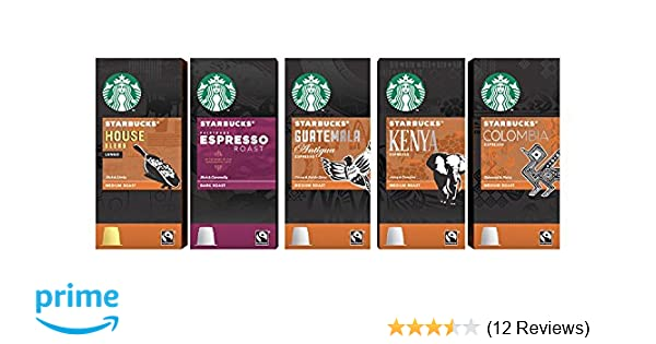 Starbucks Espresso Capsules Compatible with Nespresso Original Line Machines - Variety Assortment 50 Count: Amazon.com: Grocery & Gourmet Food