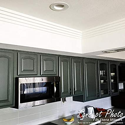Classic Smooth Crown Moulding 5//8H x 1//2P x 94 1//2L, 3//4 Repeat