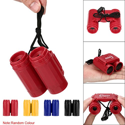 YJYdada New Children's 2.5 x 26 Magnification Toy Binocular Telescope + Neck Tie Strap by YJYdada (Image #2)