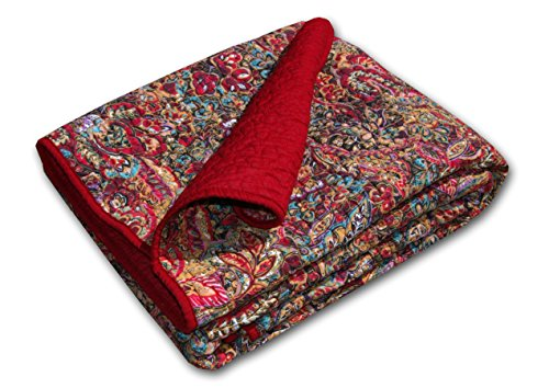 Learn More About Greenland Home Persian Quilted Throw