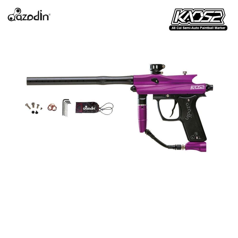 Azodin Kaos 2 Paintball Gun Package - Purple / Black by Azodin
