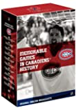 NHL: Greatest Games in Montreal Canadiens History by Various