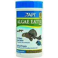 API ALGAE EATER WAFERS Algae Wafer Fish Food 6.4-Ounce Container